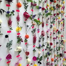 flower backdrop diy make a fresh flower backdrop ladylandladyland