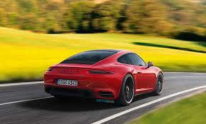 red porsche 911 2019 porsche 911 992 rendered in evolutionary fashion