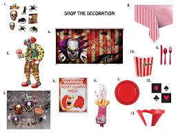 freak show decorations costumebox