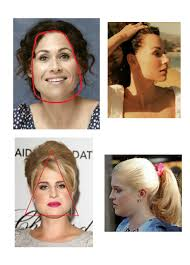 pear shaped face hairstyles hair by season face shape pear trapezhoid
