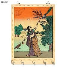 Rs Handmade - r s jewels handmade wooden gem painting new designs key