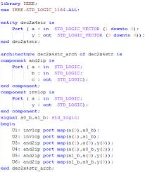 Test Benches In Vhdl Decoders Implementation In Vhdl Digital Electronics