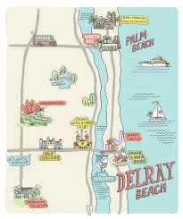 Map Of Delray Beach Florida by A Sunny Escape 3 Perfect Days In Delray Beach Florida Wsj