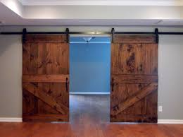 Laminate Flooring Doorway Traditional Half Z Brace Plank Barn Door