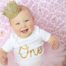 headbands for baby infant newborn mini felt glitter gold crown headbands for