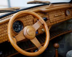volkswagen bug wheels steering wheel of a wooden volkswagen beetle photos wooden