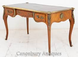 bureau napoleon 3 antique empire bureau plat writing desk ebay