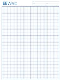 engineering graph paper electronics and electrical engineering