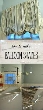 How To Make Balloon Shade Curtains Make A Balloon Shade From A Panel Curtain Diy Crafts