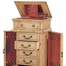 Hayworth Jewelry Armoire Hives And Honey Natalie Jewelry Armoire With Mirrorwhite Jewelry