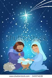 holy family nativity birth jesus stock vector 349374638 shutterstock
