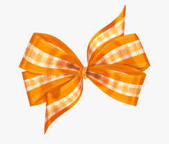 decorative bows decorative bows orange lattice hair accessories png image for
