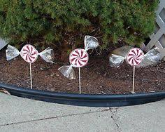 diy pvc candy cane great outdoor christmas decoration