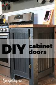 how to make my own cabinet doors diy cabinet door