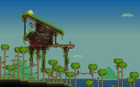 cool tree houses tree house wip terraria