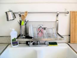 Kitchen Dish Rack Ideas Kitchen Sink Drying Rack