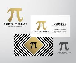 constant estate abstract vector premium business card template pi