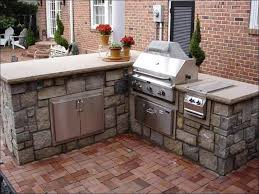 L Shaped Outdoor Kitchen by Kitchen Bbq Island Plans Pdf Corner Outdoor Grill Outdoor