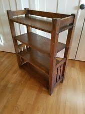 Stickley Bookcase Arts U0026 Crafts Mission Style Bookcases Antique Furniture Ebay