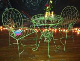 wrought iron bistro table and chair set wrought iron table chairs sets