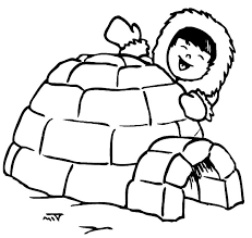fresh igloo coloring page 11 for gallery coloring ideas with igloo
