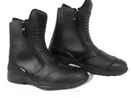 black motorbike boots motorbike boots oxford warrior motorcycle scooter waterproof