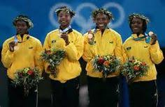 how to style hair for track and field nickiesha wilson of jamaica shaves the olympic rings into one side