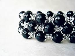 black pearl bracelet jewelry images Women 39 s bracelets jpeg