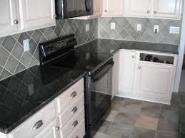 kitchen black tile countertops tiles and white design grout