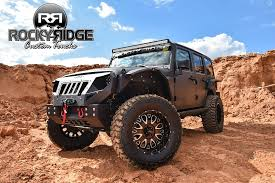 jeep wrangler jacked up matte black lifted jeep wranglers for sale new jersey rocky ridge truck jeep