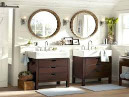 home depot vanity mirror bathroom bathroom genial round bathroom mirrors ideas wood home round vanity