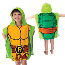 Nickelodeon Teenage Mutant Ninja Turtles Infant Halloween Costume Nickelodeon Teenage Mutant Ninja Turtles Hooded Poncho Towel