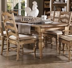 homecoming vintage pine farmhouse rectangular leg dining table
