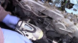 nissan frontier torque specs 2005 nissan frontier 4 0 timing chain remplace youtube