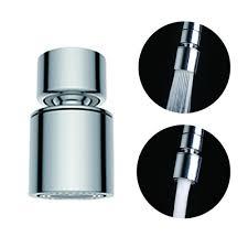 waternymph hibbent dual function 2 flow kitchen tap aerator