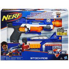 nerf car gun elite stockade šautuvas
