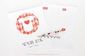 baby 1st year book free printable baby memory book printable crush