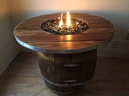 Wine Barrel Fire Pit Table by Wine Barrel Fire Pit Table Tlsplant Com