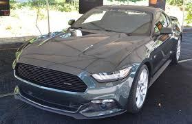 Black Mustang Saleen 2015 Saleen Mustang