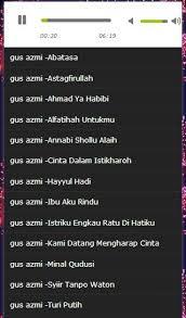 download mp3 gus azmi ibu aku rindu song gus azmi full mp3 android apps on google play