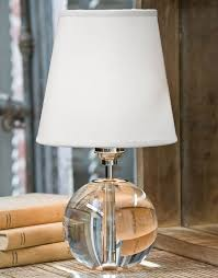 Orb Table Lamp Crystal Orb Mini Sphere Table Lamp For Sale Cottage U0026 Bungalow
