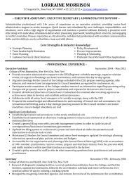 Administrative Assistant Job Description For Resume by Administrative Assistant Resume Qualifications 6572