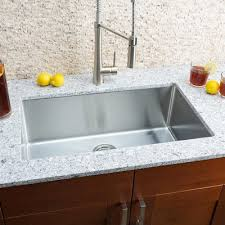 Hahn Chef Series  X  Single Bowl Undermount Kitchen Sink - Single undermount kitchen sinks