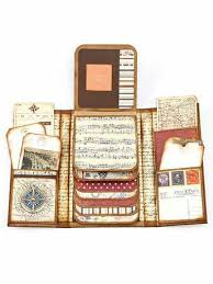 Flip Photo Album Papercraft Scrapbook Layered Minialbum Ideas An Option For