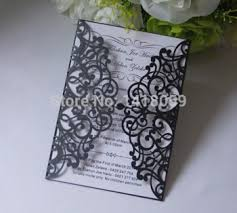 damask wedding invitations sle 1 set laser cut damask wedding invitation card with