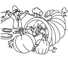 thanksgiving cornucopia coloring cornucopia free coloring pages