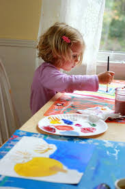 taking time for creativity with online painting classes