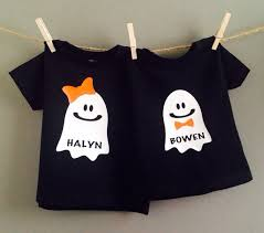 shirt personalized baby shirt ghost