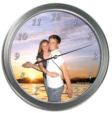 personalized clocks with pictures personalized gifts colour s