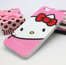Amazon Iphone 5 Kitty Resin Hard Case Cover